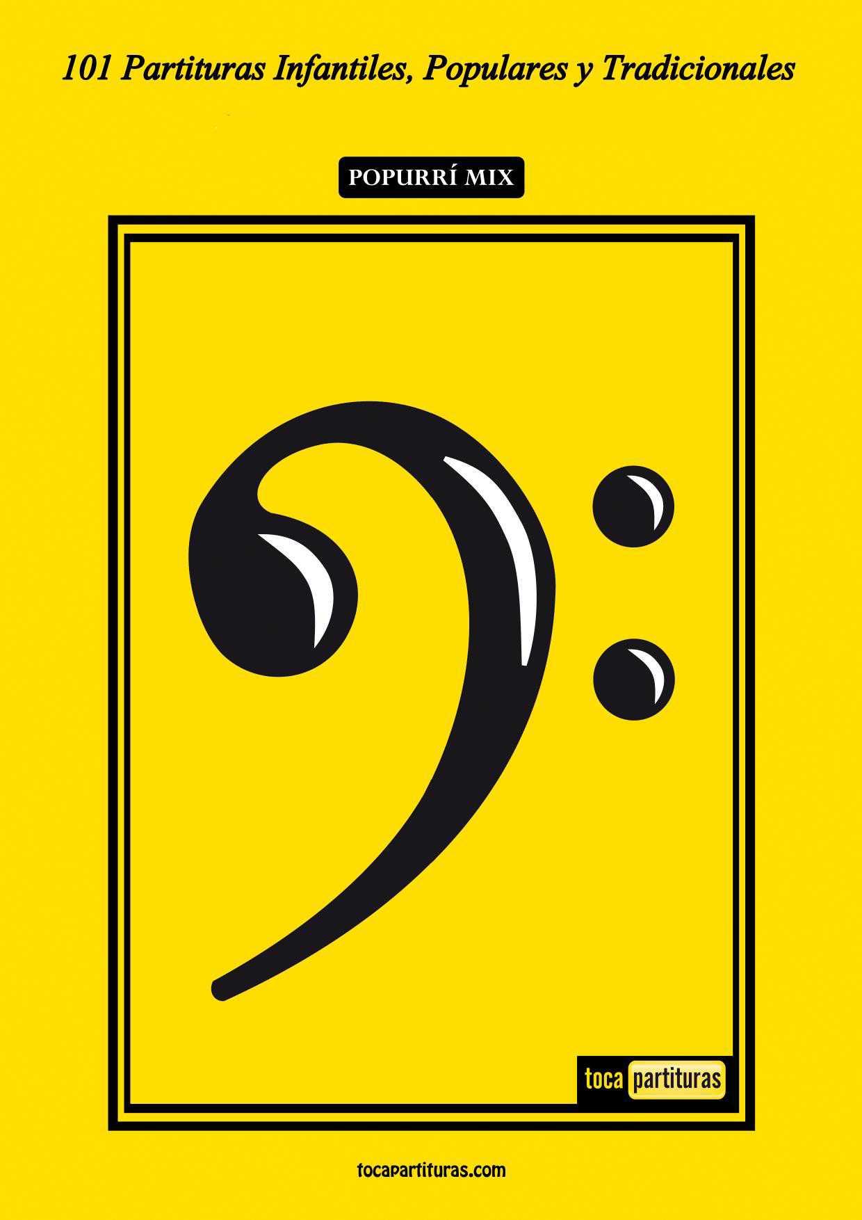101 Partituras Populares Infantiles Libro PDF Partitura de Trombón / Bombardino