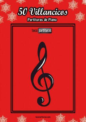 50 Partituras de Villancicos para Piano Fácil (Acordes Básicos) LIBRO PDF MIDI KARAOKE MP3 Principiantes