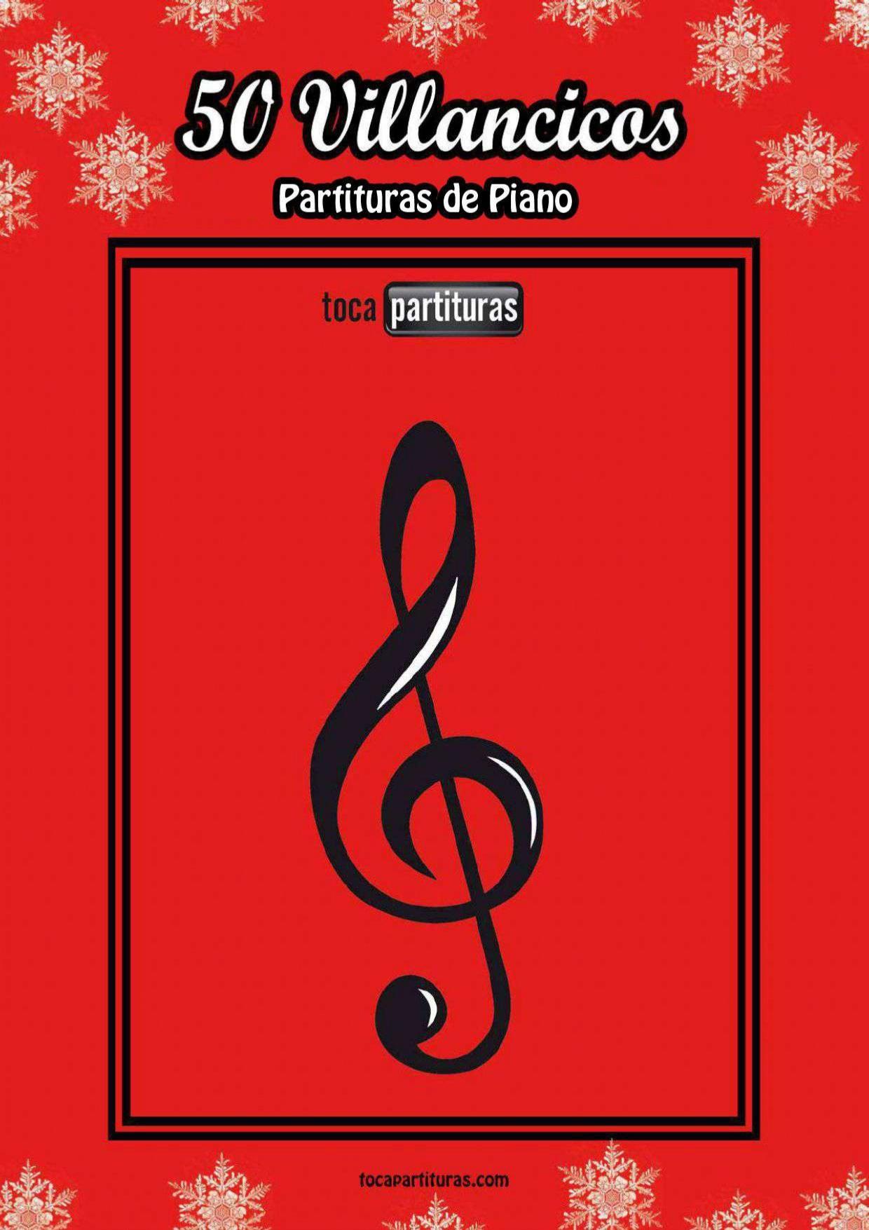 50 Villancicos para PIANO con Acordes LIBRO PDF MIDI PARA APRENDER PIANO