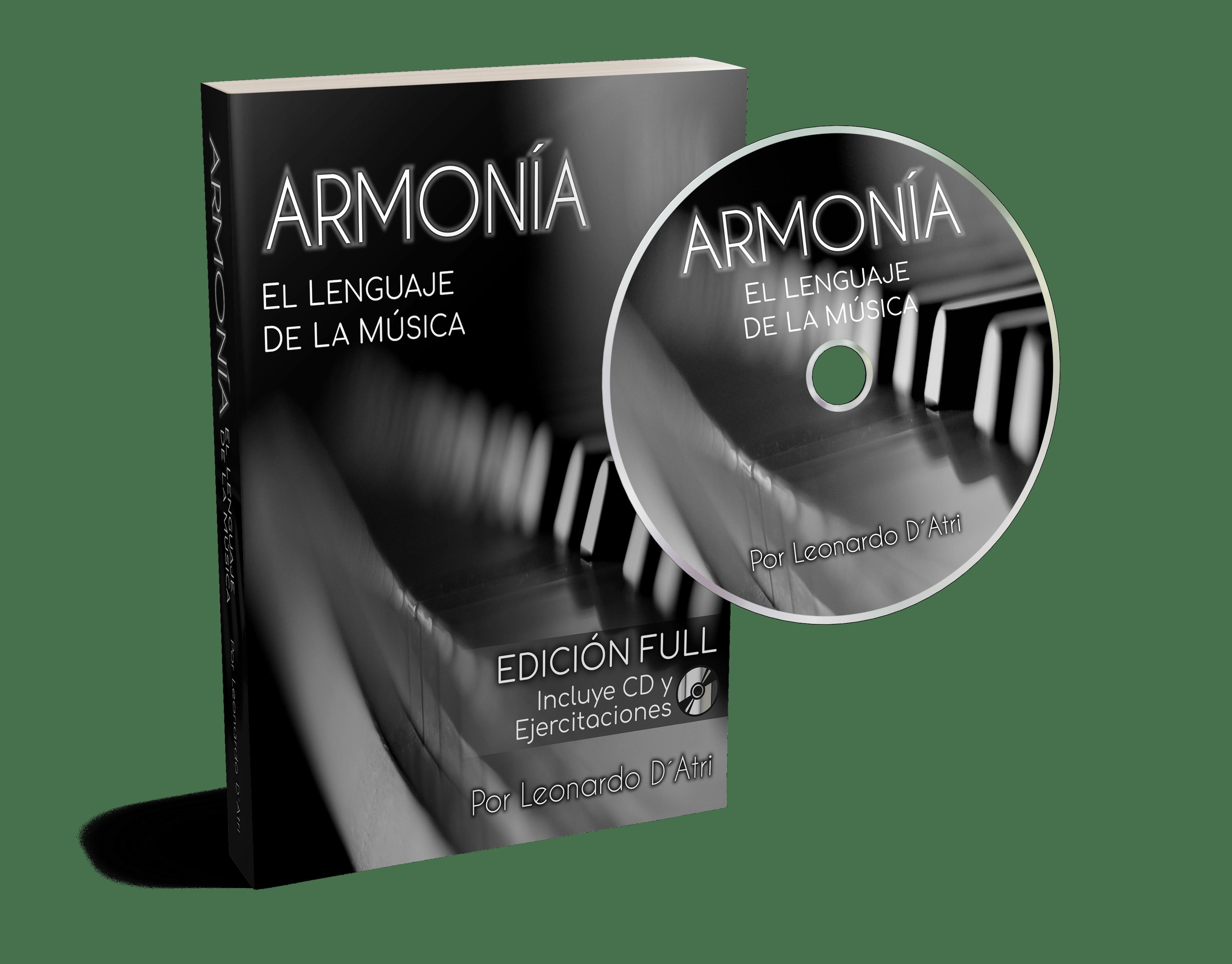Armonía Libro PDF + Cuadernillo Ejercicios + Auido Mp3 CD