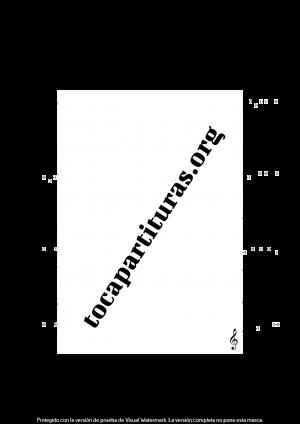 Barcarola (Offenbach) Tonalidad Fácil Tablatura y Partitura del Punteo de Ukelele (Guitar Tabs)