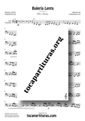 Bulería Lenta de diegosax Partitura de Tuba / Contrabajo (Contrabass) PDF y MIDI