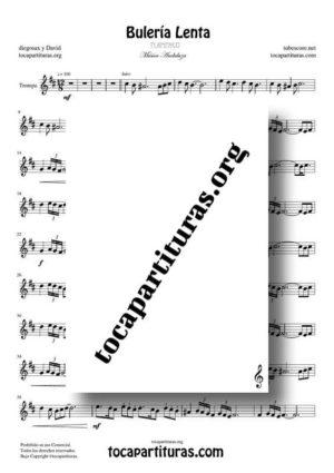 Bulería Lenta de diegosax Partitura PDF y MIDI de Trompa (French Horn)