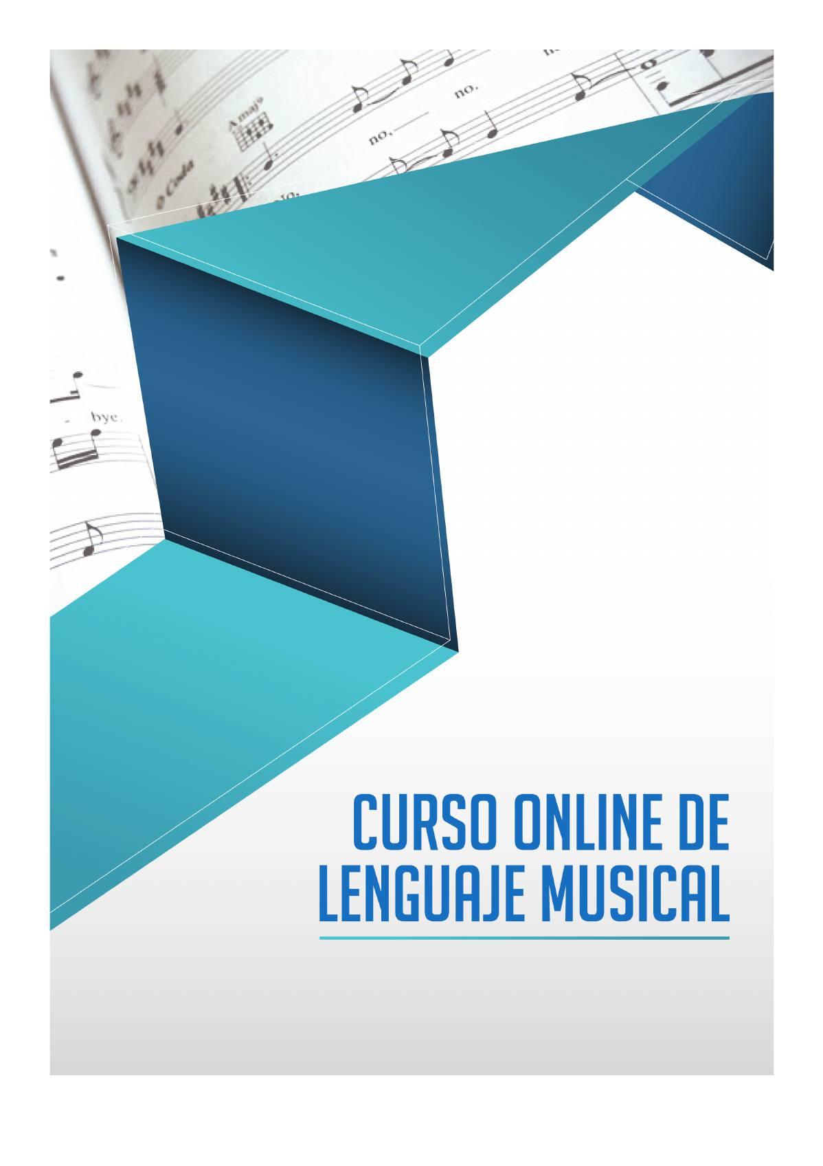 """Curso de Lenguaje Musical: Asesoramiento, Material y Solfeo Online + Libro PDF Gratis """"Mejora tu Técnica"""" por tan solo 26€"""
