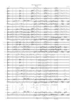 Del Calvario a la Esperanza a J.J. Puntas Partitura de Banda de Música – Marcha de Procesión