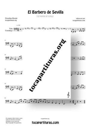 El Barbero de Sevilla Partituras de Tuba