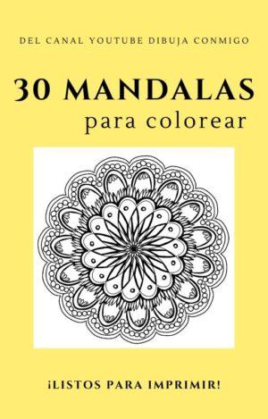30 Mandalas LIBRO PDF Listos para IMPRIMIR Y COLOREAR