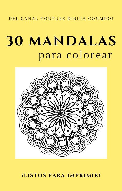 Libro PDF 30 Mandalas para Imprimir y colorear